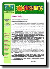 """Flash Infos"" n° 5"